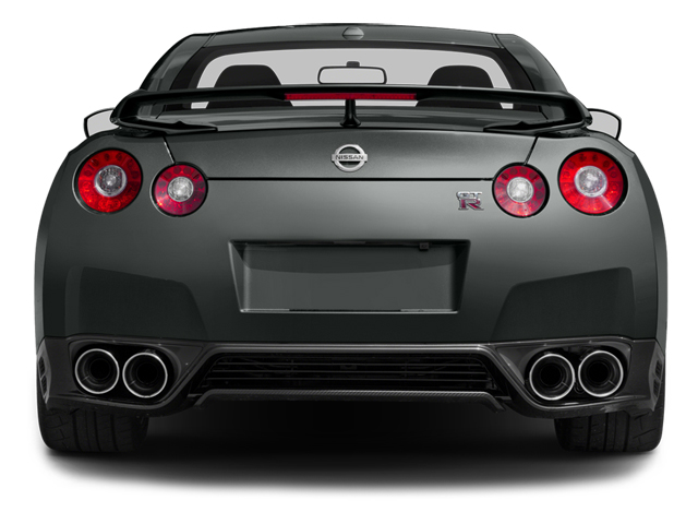 2014 Nissan GT-R Prices and Values Coupe 2D Track Edition AWD V6 Turbo rear view