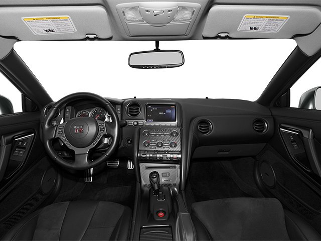 2014 Nissan GT-R Prices and Values Coupe 2D Track Edition AWD V6 Turbo full dashboard