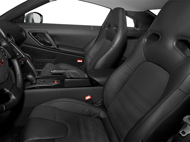 2014 Nissan GT-R Prices and Values Coupe 2D Track Edition AWD V6 Turbo front seat interior