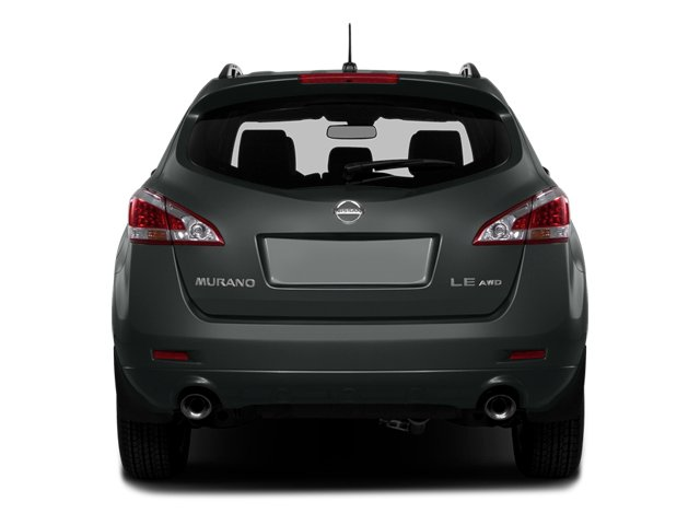 2014 Nissan Murano Pictures Murano Utility 4D LE AWD V6 photos rear view
