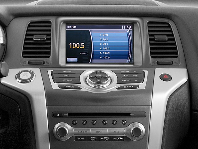 2014 Nissan Murano Pictures Murano Utility 4D LE AWD V6 photos stereo system