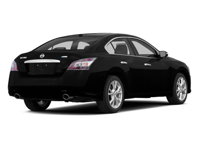 2014 Nissan Maxima Prices and Values Sedan 4D SV V6 side rear view
