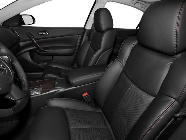 2014 Nissan Maxima Prices and Values Sedan 4D SV V6 front seat interior