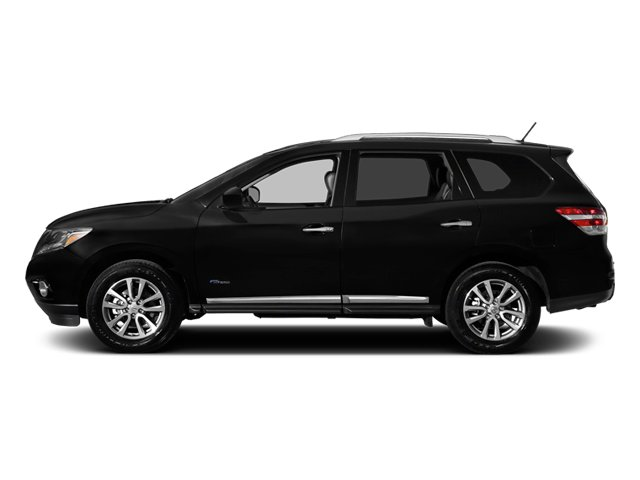2014 Nissan Pathfinder Prices and Values Utility 4D Platinum 2WD I4 Hybrid side view