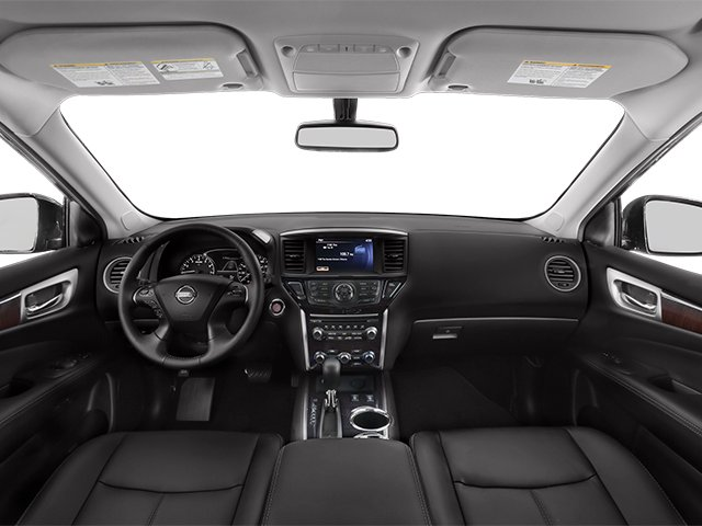 2014 Nissan Pathfinder Prices and Values Utility 4D Platinum 2WD I4 Hybrid full dashboard