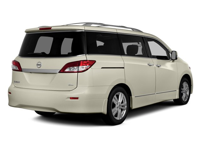 2014 Nissan Quest Prices and Values Van SL 3.5 V6 side rear view