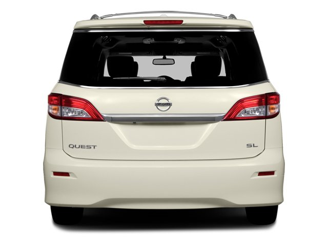 2014 Nissan Quest Prices and Values Van SL 3.5 V6 rear view