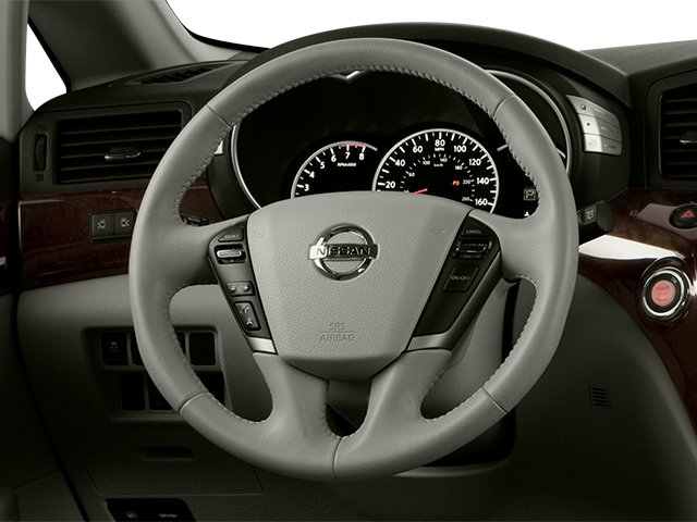 2014 Nissan Quest Prices and Values Van SL 3.5 V6 driver's dashboard