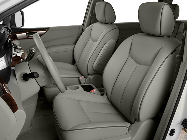 2014 Nissan Quest Prices and Values Van SL 3.5 V6 front seat interior