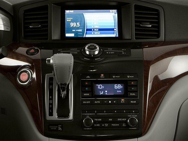 2014 Nissan Quest Pictures Quest Van S 3.5 V6 photos stereo system