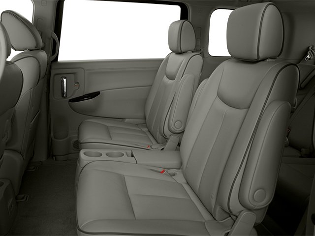 2014 Nissan Quest Prices and Values Van SL 3.5 V6 backseat interior