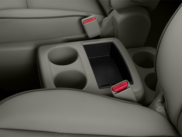 2014 Nissan Quest Prices and Values Van SL 3.5 V6 center storage console