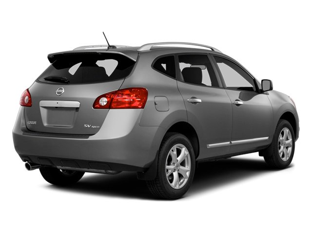 2014 Nissan Rogue Select Prices and Values Utility 4D S 2WD I4 side rear view