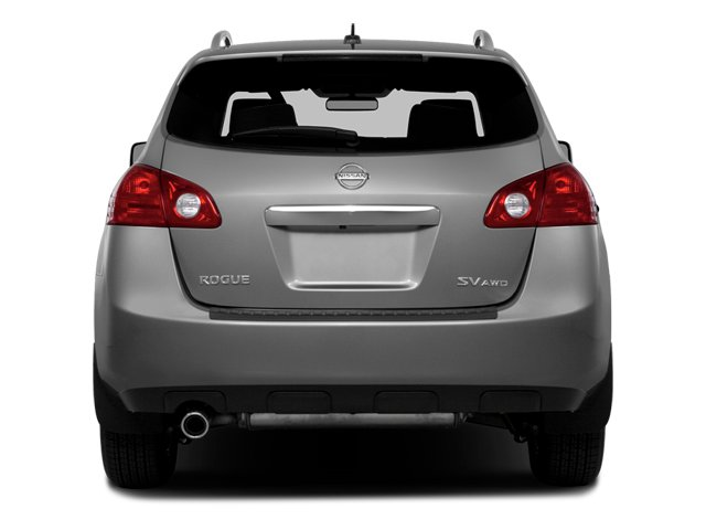 2014 Nissan Rogue Select Prices and Values Utility 4D S 2WD I4 rear view