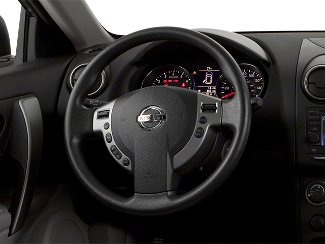 2014 Nissan Rogue Select Prices and Values Utility 4D S 2WD I4 driver's dashboard