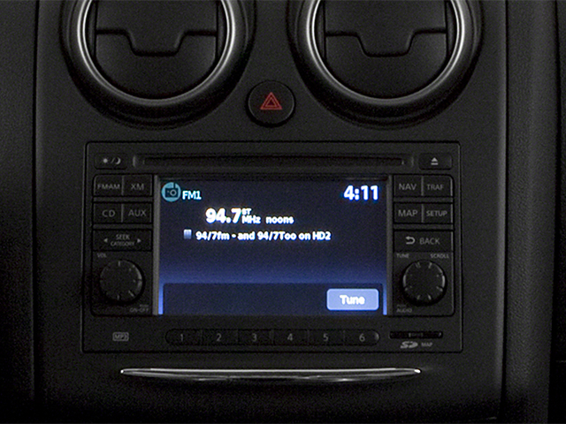 2014 Nissan Rogue Select Prices and Values Utility 4D S 2WD I4 stereo system