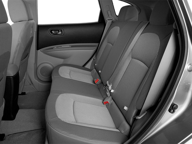 2014 Nissan Rogue Select Prices and Values Utility 4D S 2WD I4 backseat interior