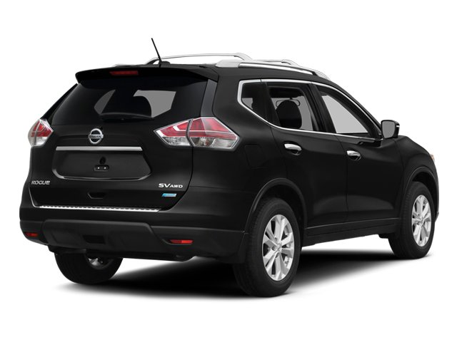 2014 Nissan Rogue Pictures Rogue Utility 4D SL AWD I4 photos side rear view