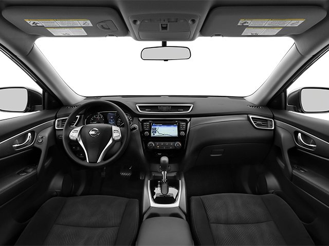 2014 Nissan Rogue Pictures Rogue Utility 4D SL AWD I4 photos full dashboard