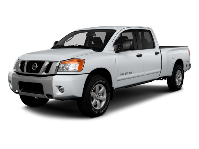 2014 Nissan Titan Prices and Values Crew Cab SV 4WD