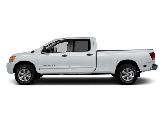 2014 Nissan Titan Prices and Values Crew Cab SV 4WD side view