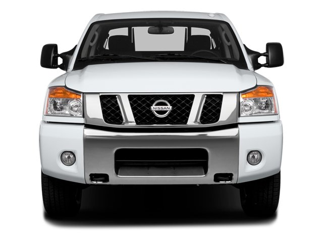2014 Nissan Titan Prices and Values Crew Cab SV 4WD front view