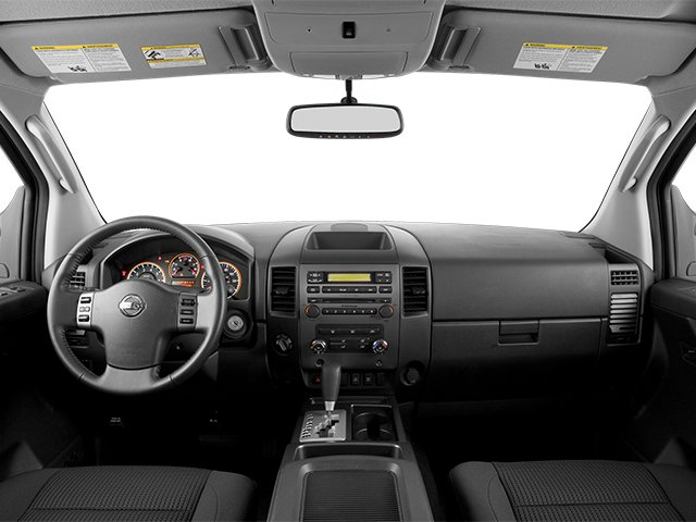 2014 Nissan Titan Prices and Values Crew Cab SV 4WD full dashboard