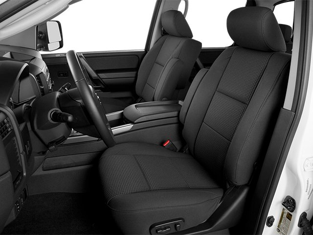 2014 Nissan Titan Prices and Values Crew Cab SV 4WD front seat interior