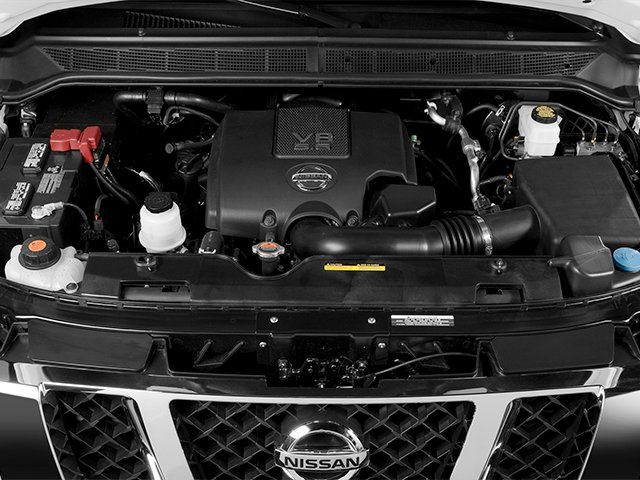 2014 Nissan Titan Prices and Values Crew Cab SV 4WD engine