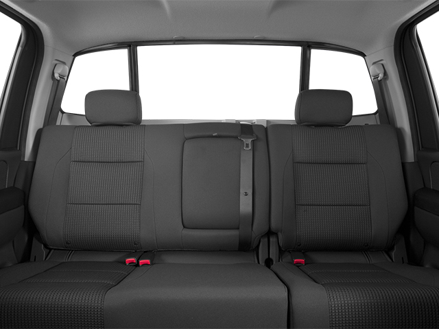2014 Nissan Titan Prices and Values Crew Cab SV 4WD backseat interior