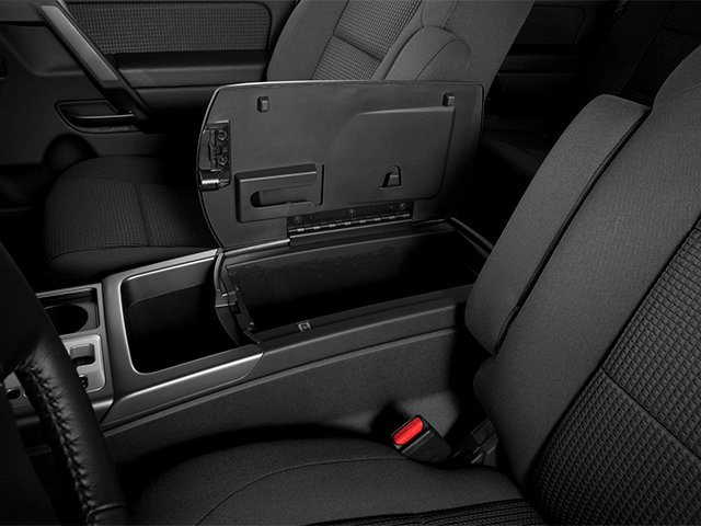 2014 Nissan Titan Prices and Values Crew Cab SV 4WD center storage console