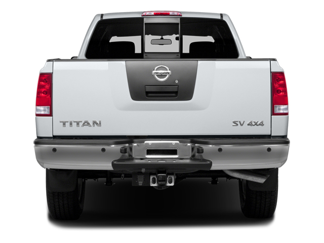 2014 Nissan Titan Pictures Titan King Cab S 4WD photos rear view