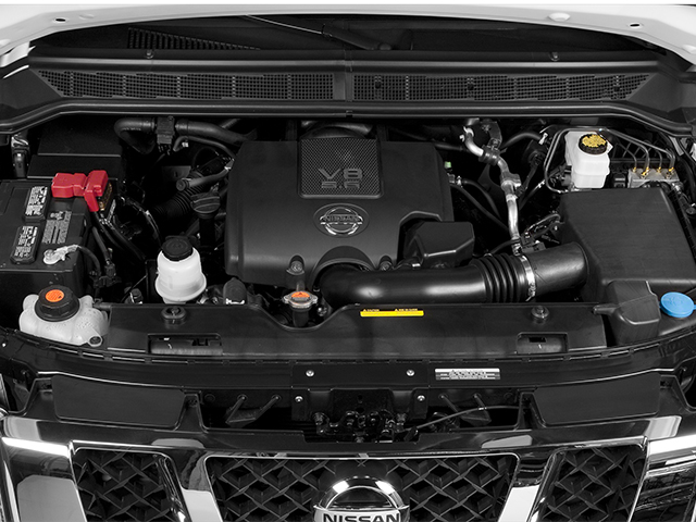 2014 Nissan Titan Pictures Titan King Cab S 4WD photos engine