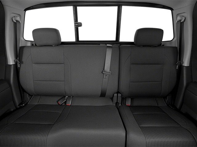 2014 Nissan Titan Pictures Titan King Cab S 4WD photos backseat interior