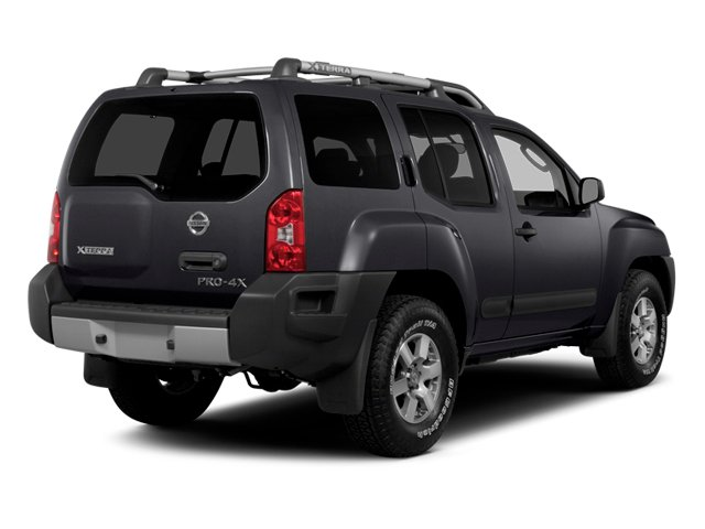 2014 Nissan Xterra Prices and Values Utility 4D S 2WD side rear view