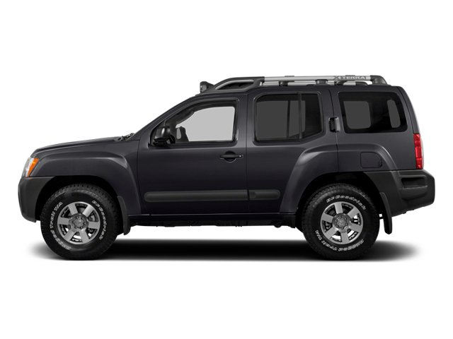 2014 Nissan Xterra Prices and Values Utility 4D S 2WD side view