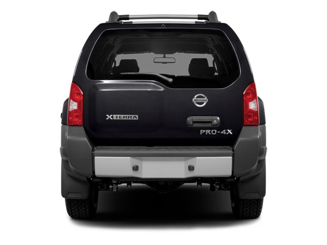 2014 Nissan Xterra Prices and Values Utility 4D S 2WD rear view