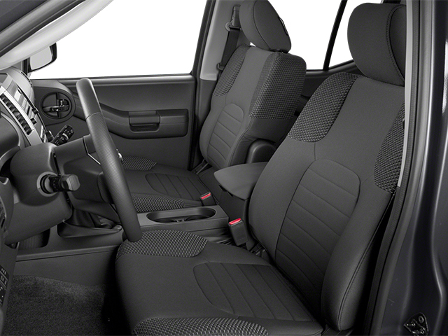 2014 Nissan Xterra Prices and Values Utility 4D S 2WD front seat interior