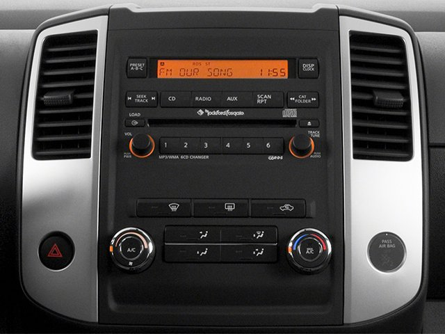 2014 Nissan Xterra Prices and Values Utility 4D S 2WD stereo system