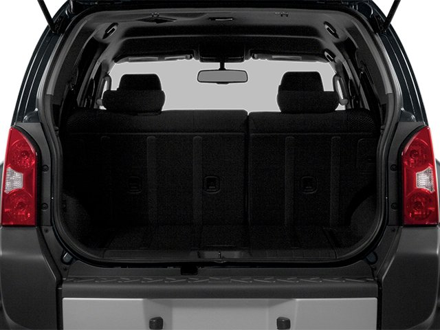 2014 Nissan Xterra Prices and Values Utility 4D S 2WD open trunk