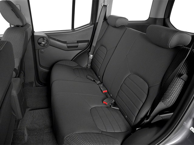 2014 Nissan Xterra Prices and Values Utility 4D S 2WD backseat interior
