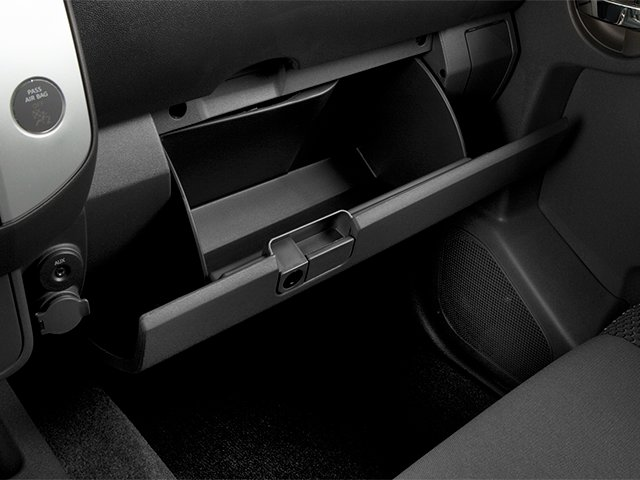 2014 Nissan Xterra Prices and Values Utility 4D S 2WD glove box