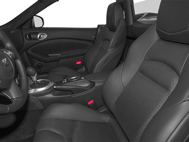2014 Nissan 370Z Prices and Values Roadster 2D Touring V6 front seat interior