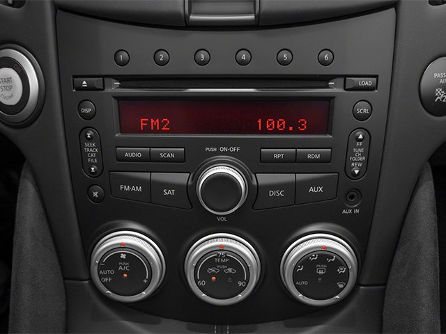 2014 Nissan 370Z Prices and Values Roadster 2D Touring V6 stereo system
