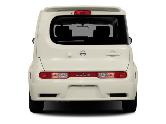 2014 Nissan cube Prices and Values Wagon 4D S I4 rear view