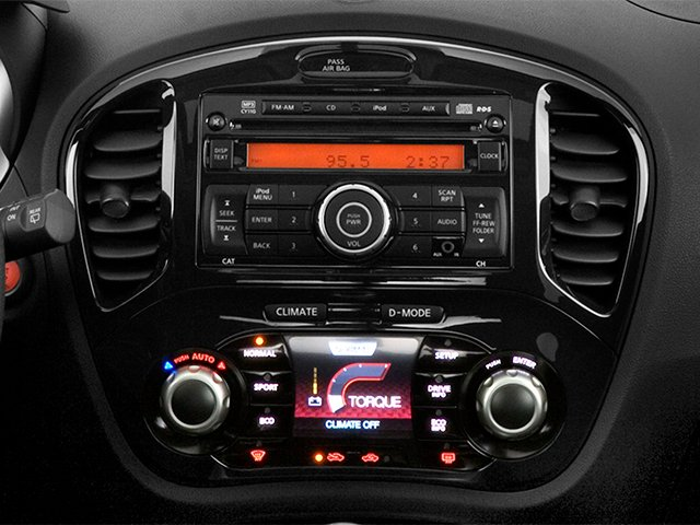 2014 Nissan JUKE Prices and Values Utlity 4D SL 2WD I4 Turbo stereo system