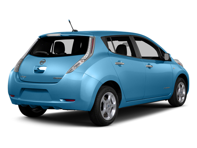 2014 Nissan LEAF Prices and Values Hatchback 5D S Electric side rear view
