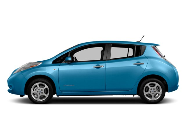 2014 Nissan LEAF Prices and Values Hatchback 5D S Electric side view
