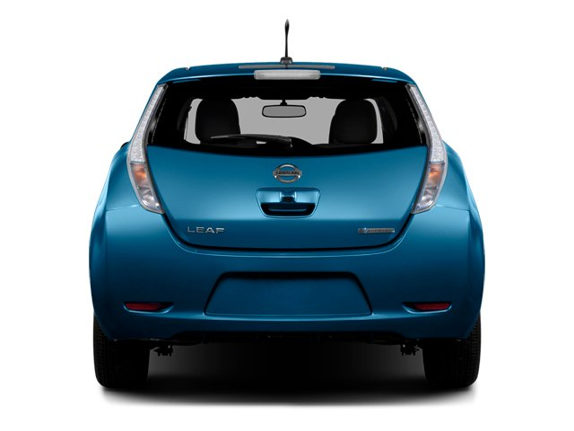 2014 Nissan LEAF Prices and Values Hatchback 5D S Electric rear view