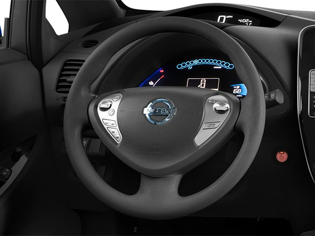 2014 Nissan LEAF Prices and Values Hatchback 5D S Electric driver's dashboard